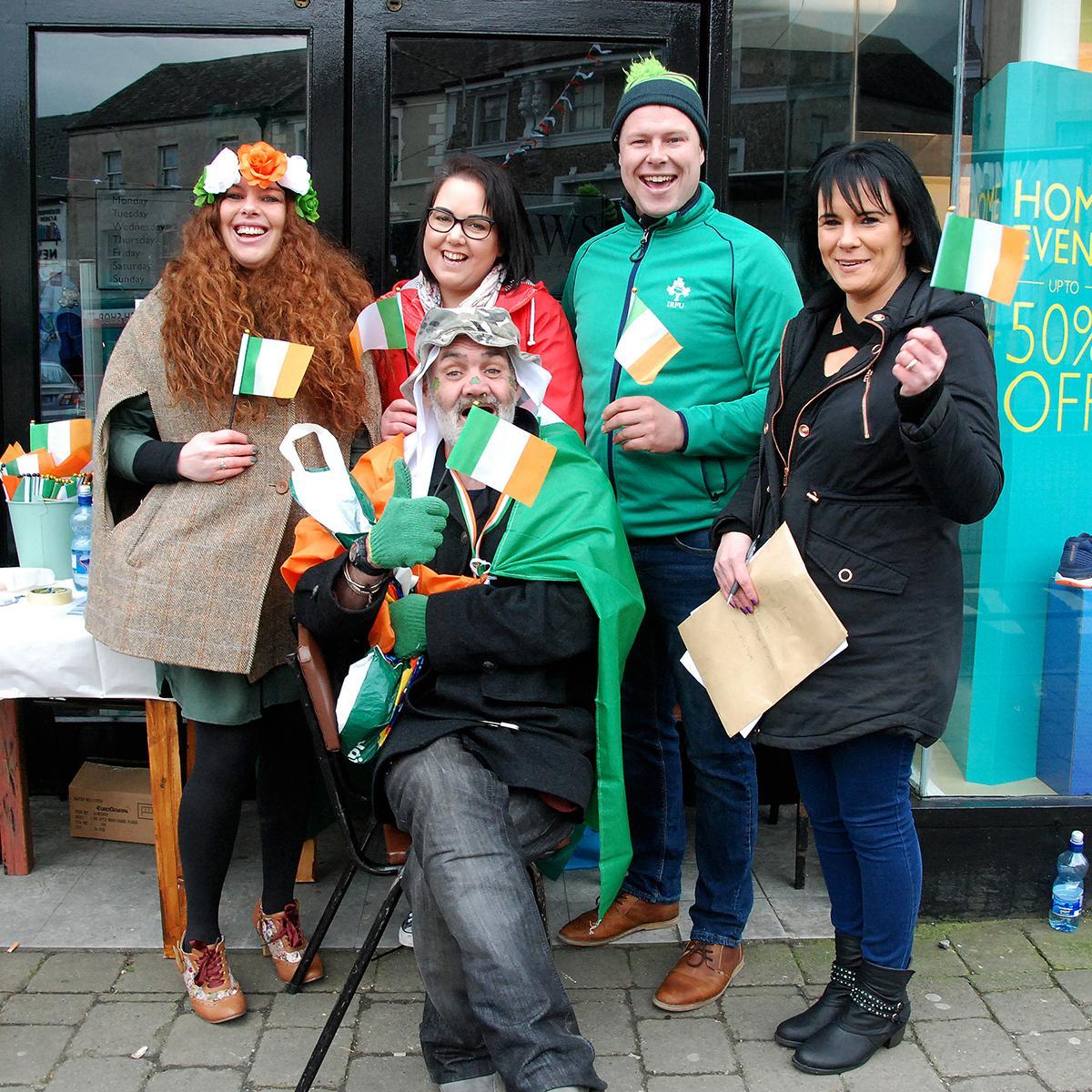 Roscrea St  Patrick's Day Parade a huge success