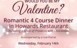 The winner of a dinner for two on Valentine's Day at Clonmel Park Hotel is …..