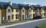 A planning application notice for nine houses has been placed on the entrance to the barley field in Marlfield, Clonmel