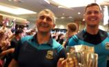 GALLERY: Jubilation as All Ireland winners Tipperary arrive at Clayton Hotel