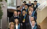 Tipperary garda graduates march to an educational beat at University of Limerick