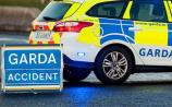 Gardai at the scene of crash at Loughmore cross