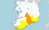 Waterford weather warning upgraded to Status Orange