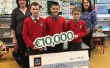 Rossmore NS winners of Aldi rugby voucher competition