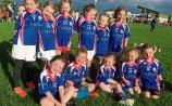 Rockwell Rovers little girls write their names into club history