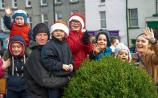 Santa braves the weather to turn on the Christmas lights in County Tipperary