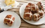 Gingergirl: Ditch the chocolate and enjoy a hot cross bun this Easter!