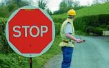 Tipperary motorist rugby tackled stop/go sign operator