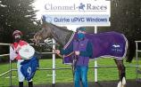 Joint favourite Oscar Thyne driven out to win beginners' chase in Clonmel