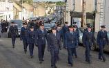Guard of Honour for Linda Walsh (RIP)