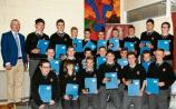 Awards presented to Carrick-on-Suir CBS students
