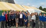 Renowned Fr Peter McVerry inspires Tipp Transition Year pupils at Holycross Abbey gathering