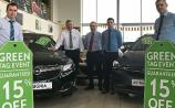 15% off new cars at Hinchy's Green Tag Event
