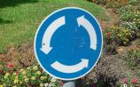 Danger at mini roundabout at Clonmel's Western Road