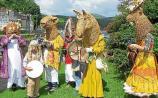 Tipperary festival: mummer's the word as Ballina celebrates Brian Boru