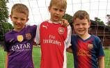 Cahir Park AFC: Arsenal and Barcelona soccer kids showcase their skills at Tipperary club's summer camp