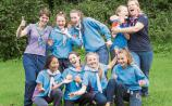Rockwell College Cashel hosts 1,800 Guides in Co. Tipperary