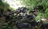 Tyre dumping – new council plan to tackle the problem