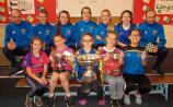 Tipperary All Ireland winners visitCahir schoolgirls