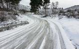 Tipperary weather alert! Snow and ice forecast for Monday night