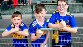 Fans show their support for the All Ireland winning u20 Tipperary hurling team