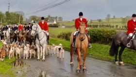 St Stephen's Day hunt in Ballingarry