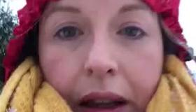 WATCH: Tipperary nurse braves subzero temperatures and 3 ft of snow to walk five miles to work