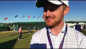 Watch: Tipperary man Donnchadh Dodd talks about dream job at US Open