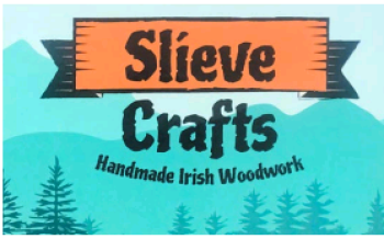Custom-made Irish woodwork made from recycled timber available at Slieve Crafts