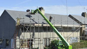283 residential buildings were under construction in Tipperary during the summer
