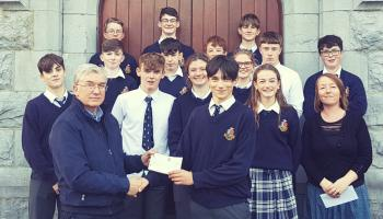 Tipperary school support Cahir teenager who suffered a life-changing spinal injury