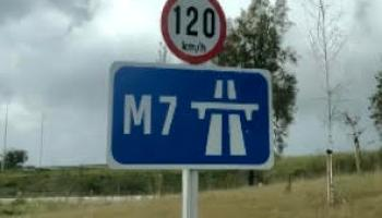 Tipperary motorists advised of diversions on M7  this Sunday