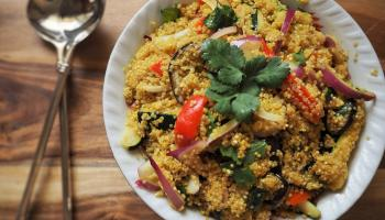 Gingergirl: Try this hearty and tasty dish using versatile quinoa