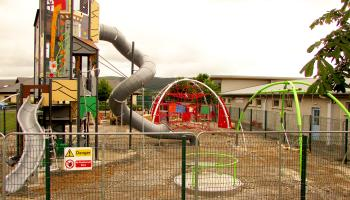 It's getting darker earlier so Cahir Playground hours are changing too