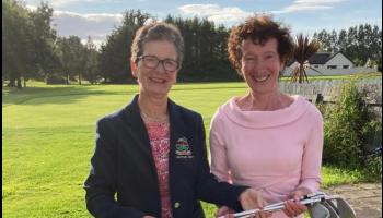 Golf in Tipperary - Prestigious wins for Paul and Anne in Captain's Prizes at Slievenamon