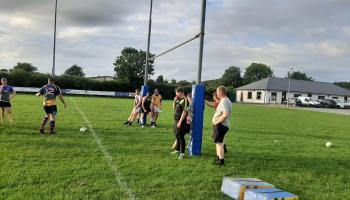 Rugby is back in Tipperary - Fethard are hard at it!