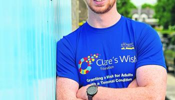 Tipperary rugby star named as charity's latest ambassador