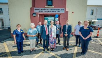 Tipperary patients give a heartfelt thanks to new cardiac unit