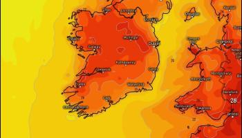 Hot weather predicted for next week