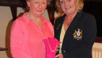 Golf in Tipperary: Anne is a very popular winner of Lady Captain's Prize at Clonmel