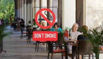 READERS POLL: Should smoking be banned in outdoor dining areas?