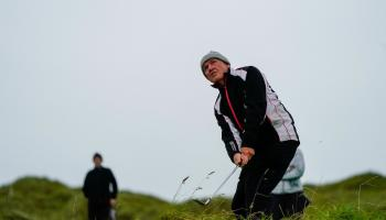Nenagh Golf Club make it  through to men's Fred Perry finals in the wind and rain of Sligo