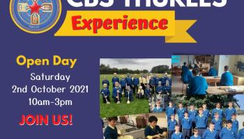 Come to CBS Thurles Open Day Tomorrow, Saturday 2nd of October