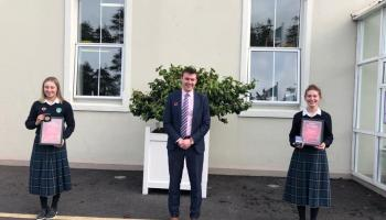 Well done to two Tipperary Town students on Irish debating achievement