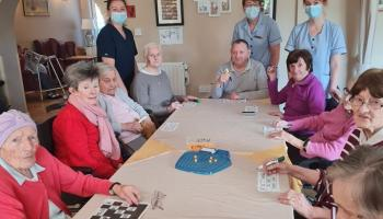 PICTURES: Great fun at St Martha's Nursing Home for Positive Ageing Week