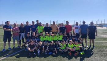 Killavilla Utd boys teams enjoy weekend in Barcelona