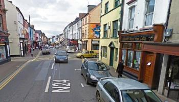 Route options for N24 work point towards bypass for Tipperary Town