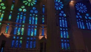 Sarah's visit to La Sagrada Familia