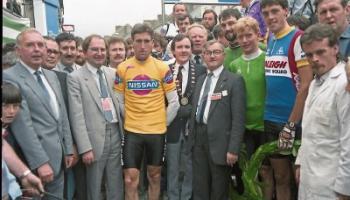 'King' Kelly broke records iiiiito rule his cycling kingdom