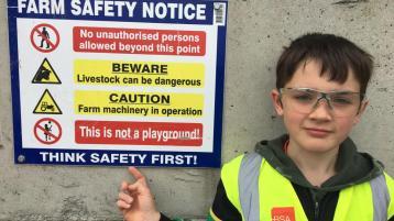 Tipperary Student wins Regional Farm Safety Award